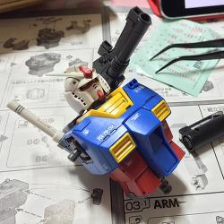 [MG] RX-78-02 Gundam The Origin
