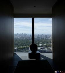 스케일이 선사하는 아름다움, 아만 도쿄 Aman Tokyo
