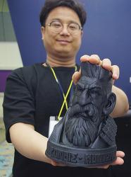 카본 3D 프린터의 대중화 길잡이. 나인랩스 박성호 대표