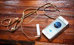 아이폰 유저 필수품 샤오미 블루투스 리시버 사용 후기. 기어베스트 직구 (유선 이어폰을 무선 헤드폰으로 쓰자)