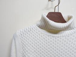 티아이포맨 터틀넥 스웨터(M168MSW912)