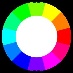 RGB 색상표와 보색관계