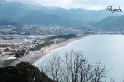 나가사키 렌트카 여행 운젠 지지와 전망대에서 군것질