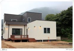 경북 성주 제로에너지하우스 (시공완료)_에너지독립주택 사례