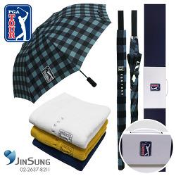 우산타올세트! PGA2단자동+70자동체스블루+170g타올세트추천 장우산타올세트처음출시