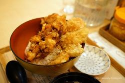 서면 텐동 맛집 에비스 튀김덮밥에 라멘