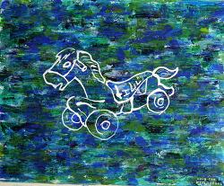 [자작그림] Ride & Run