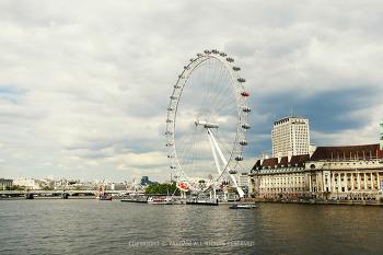 런던여행, 템스강 바람맞으며 런던아이& 타워브릿지