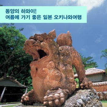 동양의 하와이! 여름에 가기 좋은 일본 오키나와여행