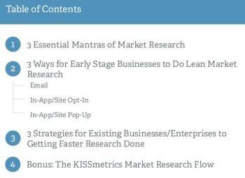 [Kissmetrics on SlideShare] How to Do Better Market Research - 시장조사 잘 하기