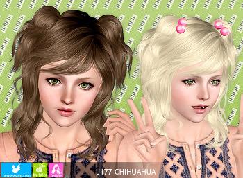 NewSea-SIMS3-hair-J177-CHIHUAHUA