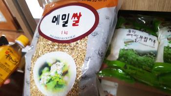 고향막국수에서 만날수 있는 메밀쌀~* 메밀쌀은 무엇일까요?!