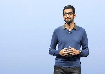 구글 순다 피차이 2015년 CEO 연봉 압도적 1위