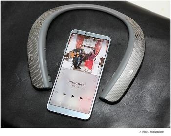 LG 톤플러스 스튜디오 HBS-W120, 나만의 서라운드 존을 마드는 외부스피커 블루투스헤드셋
