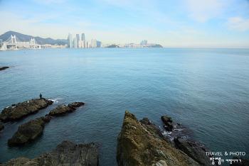푸른 하늘과 푸른 바다! 이기대 해안산책로 겨울 여행