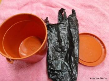 휴지통 깨끗하게 사용하는법
