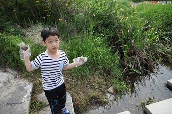 em흙공으로 하천살리기, 하림피오가족봉사단 활동