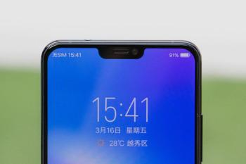 지문인식화면과 노치디자인! 중국 스마트폰의 현재! 비보 X21
