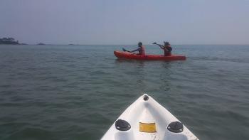 카누와 서핑보드 체험하러 울산 진하애수욕장 해양레포츠센터로 가즈아