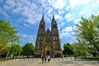 체코 프라하 여행, 프라하 비노흐라디 Vinohrady & 미루광장 Namesti Miru & 성 페트로와 파블 성당  Church of Saint Ludmila