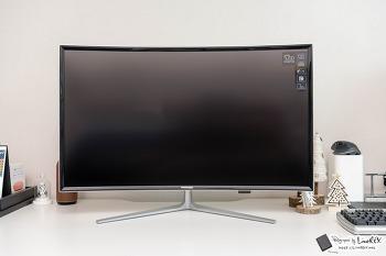 모넥스 M32CFHM 32인치 풀HD 커브드 모니터 리뷰