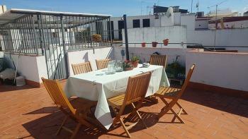 [스페인 세비야] 테라스가 예쁜 에어비앤비/Taberna Coloniales에서의 저녁식사/봄의 축제 Seville Spring Feria