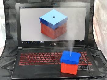 베틀그라운드 보급상자 심플 미니 가습기 3D프린팅 제품