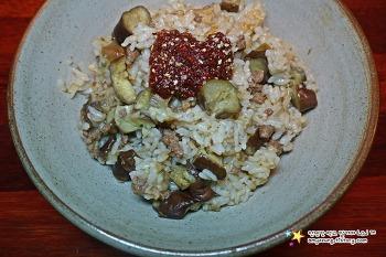 여름의 맛 가득 품은 가지요리 '소고기가지밥 만들기'