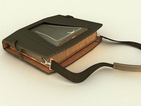 의자 및 책상으로 탈바꿈이 되는 노트북 가방