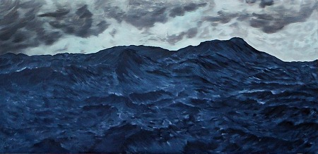 sea 133x66cm  oil on canvas 2012