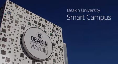 스마트 캠퍼스의 표본, 호주 디킨대학교