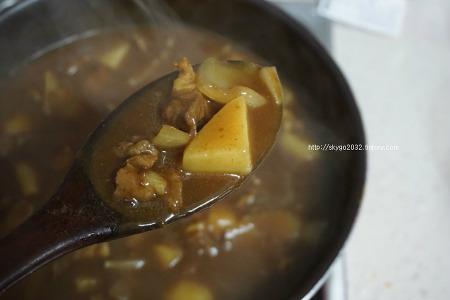 특별한요리 인도식 양고기카레