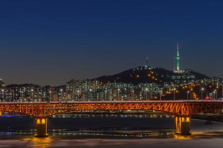 [서울야경] 성수대교 야경