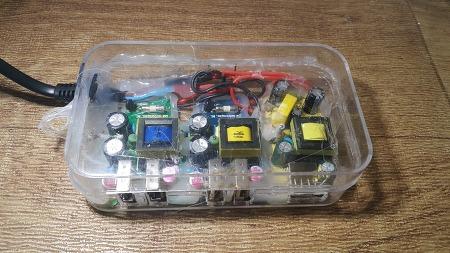 스마트폰 고속멀티충전기 만들기, 기성품 부럽지 않은 자작 멀티충전기