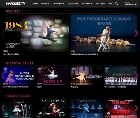 온라인공연사이트 MARQUEE TV, 그리고 오하드 나하린과 바체바 무용단의 <VIRUS> Ohad Naharin's VIRUS by Batsheva Dance Company