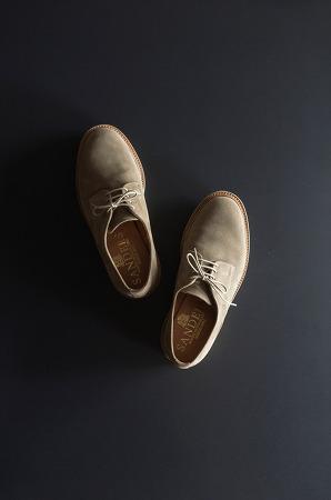 Sanders Archie Dirty Buck Suede Shoes / 샌더스 아치 더티 벅 스웨이드 슈즈 + MACK 10주년 기념 에코백
