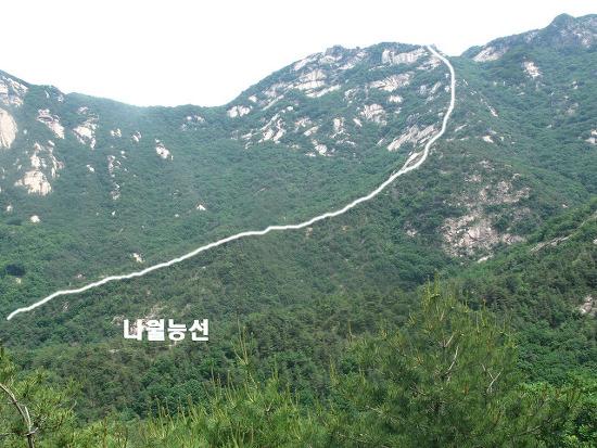 북한산등산코스:삼각산탐험 제6탄-나월능선