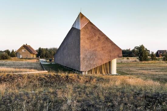 *세컨드 하우스 [ Archispektras ] The Dune House, Pape, Latvia
