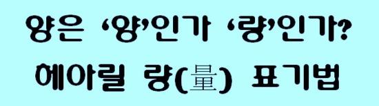 ▩ 양? 량? 표기법. 량 vs. 양 맞춤법. 헤아릴 량(量) 우리말 표기법 어느 것이 맞는가? 우리말 헷갈리는 표현, 혼동하기 쉬운 우리말 표기법. 한글 맞춤법. ▩