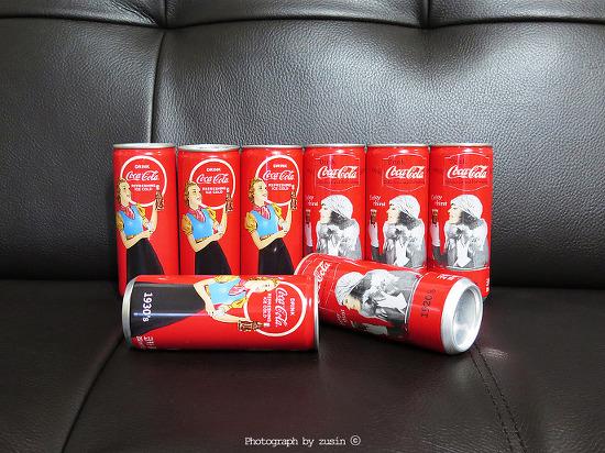 코카콜라 병의 100주년 기념 100년의 헤리티지 시리즈 2종을 손에 넣다