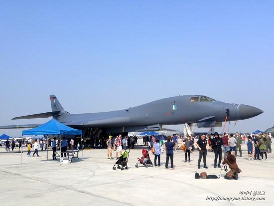 2016 오산 에어쇼 B-1B 랜서 폭격기 사진 40장