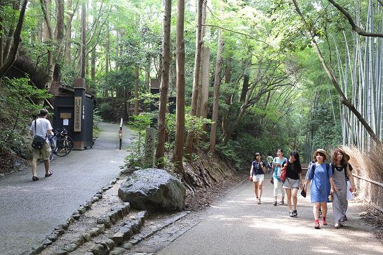 2015 오사카 여행기, 둘째 날 (란덴열차, 아라시야마, 치쿠린)