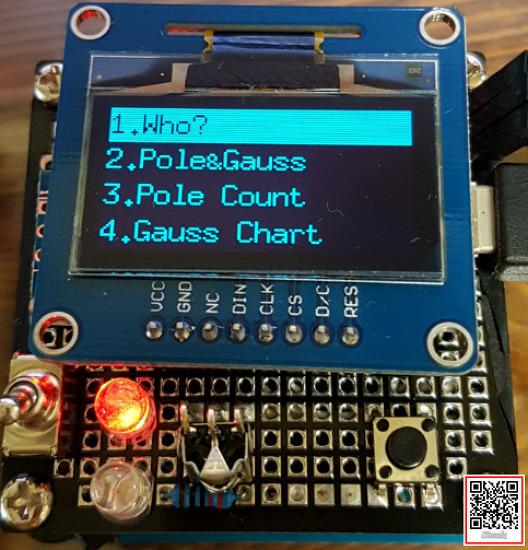 (Arduino OLED) 메뉴 선택 화면