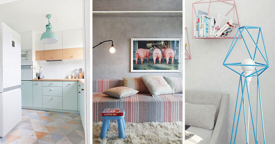 *파스텔 인테리어 8가지 법칙 8 Ideas For Introducing Pastels Into Your Interior
