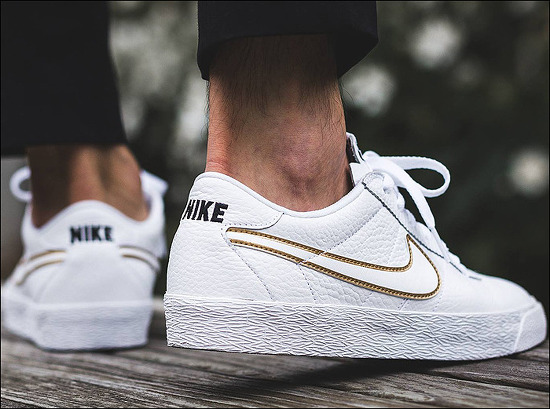 "Nike SB Zoom Bruin PRM SE ""White/Metallic Gold"" - Holiday 2017 | 나이키 SB 줌 브루인 프리미엄 SE ""화이트/메탈릭 골드"" - 2017년 겨울 시즌"