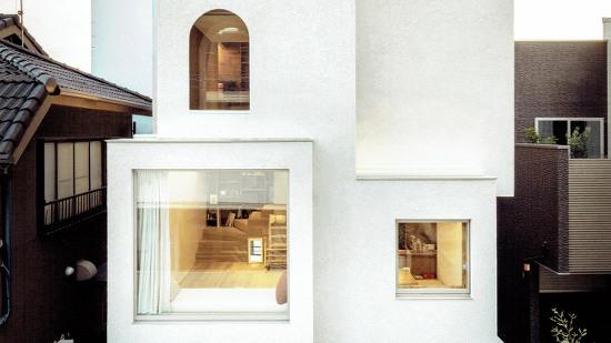 *연속 수직 구성으로 채광을 확보한 도쿄 주택-[ Daisuke Ibano ] Tokyo home