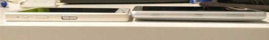 소니 - 엑스페리아 XZ2 컴팩트, 프로토타입 기기 유출