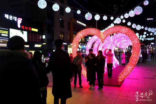 로맨틱한 겨울을 보낼 수 있는 '해운대라꼬 빛축제'