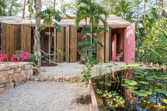 *자연과 융화된 건축 스튜디오 - [portico palmeto as an architectural studio]