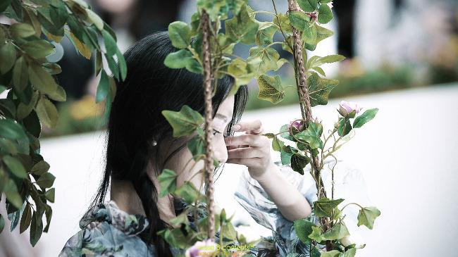 모델 송다혜 서울국제사진영상전 (P&I 2018) 소니 부스 코엑스